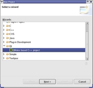 Eclipse plugin for Qt
